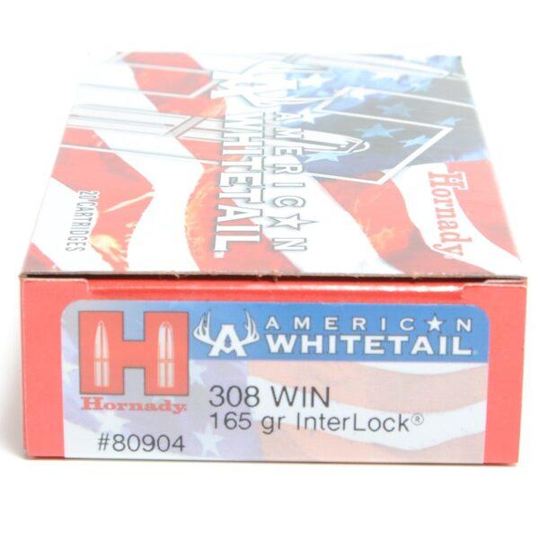 Hornady 308 Win 165 Grain Interlock American Whitetail (20)