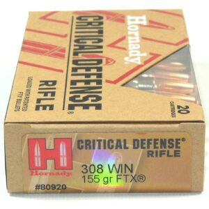 Hornady 308 Win 155 Grain FTX (Flex Tip) (20)