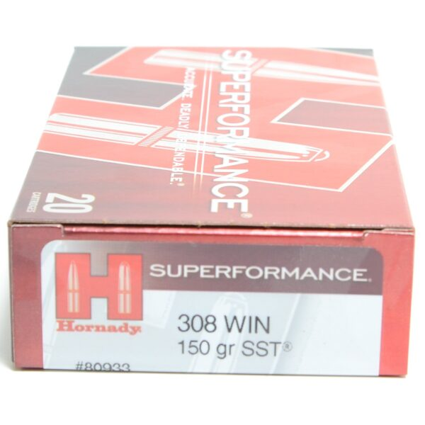 Hornady 308 Win 150 Grain SST (Super Shock Tip) Superformance (20)