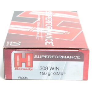 Hornady 308 Win 150 Grain Gmx Superformance (20)