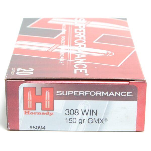 Hornady 308 Win 150 Grain Gmx Superformance (20)