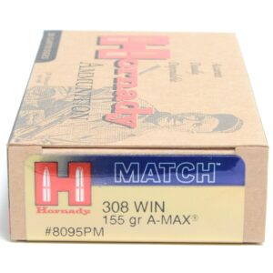Hornady 308 Win 155 Grain Palma Match (20)