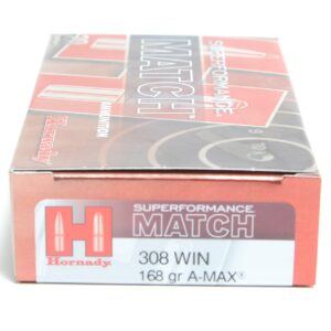 Hornady 308 Win 168 Grain Amax Superformance (20)