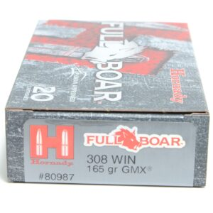 Hornady 308 Win 165 Grain GMX (MonoFlex) Full Boar (20)