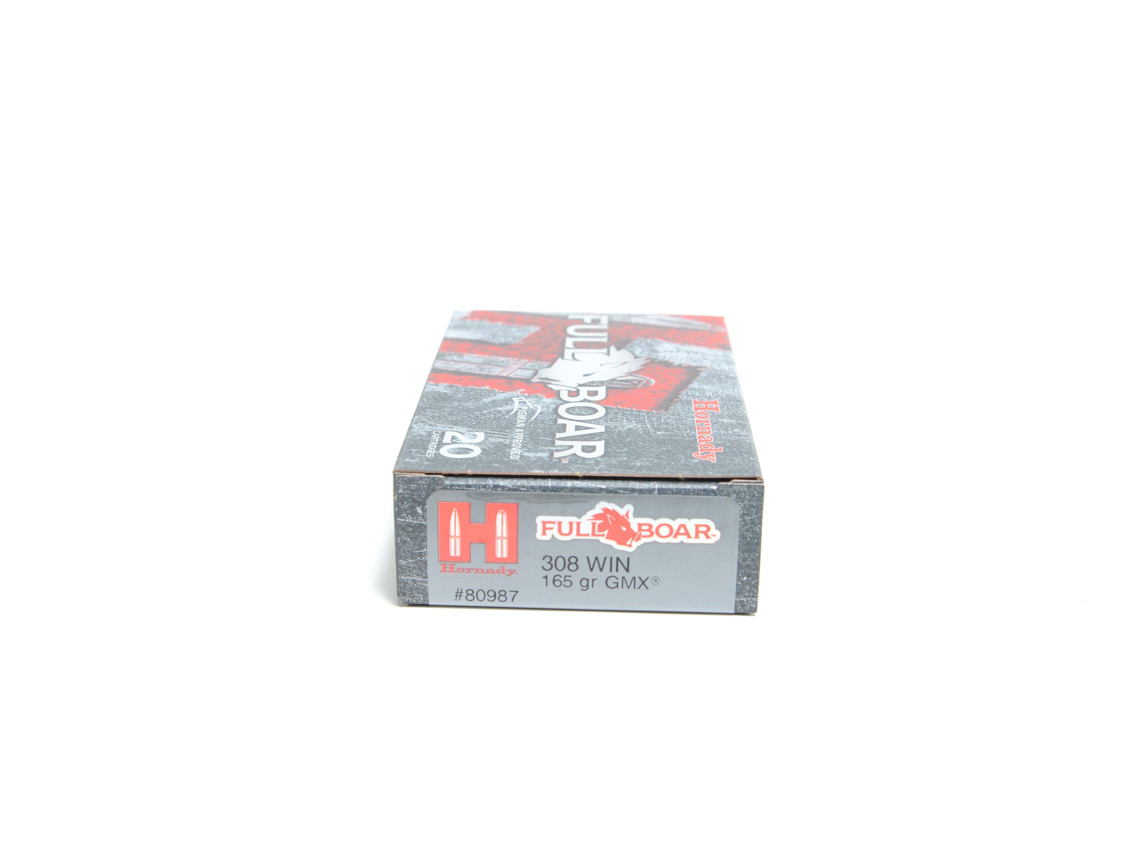 Hornady 308 Win 165 Grain GMX (MonoFlex) Full Boar (20)