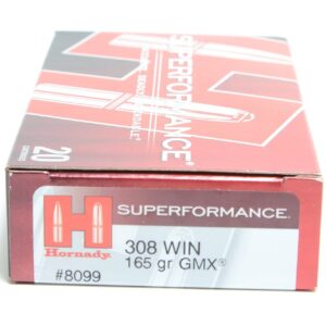 Hornady 308 Win 165 Grain GMX (MonoFlex) Superformance (20)