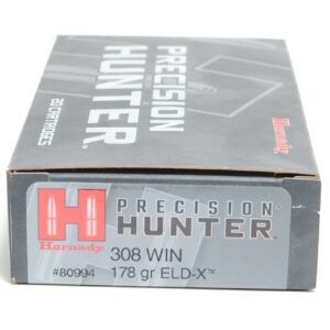 Hornady 308 Win 178 Grain ELD-X (Extremly Low Drag) Hunting (20)