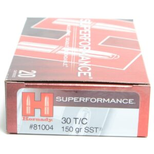 Hornady 30 T/C 150 Grain SST (Super Shock Tip) Superformance (20)