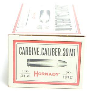 Hornady 30 Carbine 110 Grain Full Metal Jacket (50)