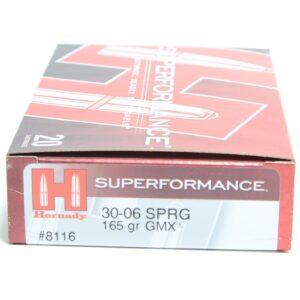 Hornady 30-06 Springfield 165 Grain GMX (MonoFlex) Superformance (20)
