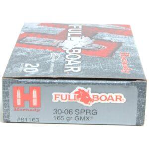 Hornady 30-06 Springfield 165 Grain GMX (MonoFlex) Full Boar (20)