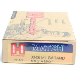 Hornady 30-06 Springfield 168 A-MAX M1 Garand (20)
