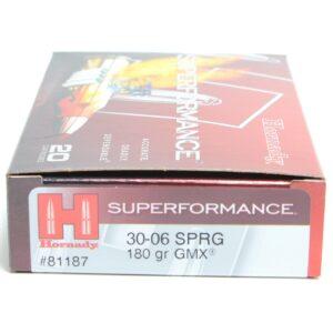 Hornady 30-06 Springfield 180 Grain GMX (MonoFlex) Superformance (20)