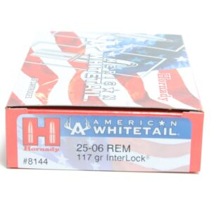 Hornady 25-06 Rem 117 Grain Interlock American Whitetail (20)