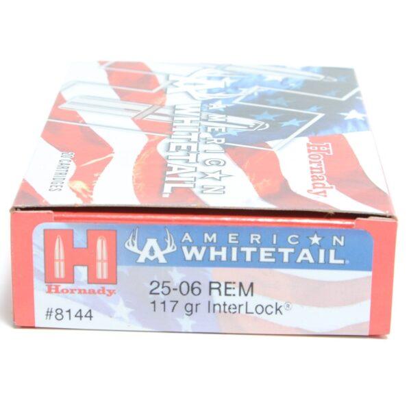 Hornady 25-06 Rem 117 Grain Interlock American Whitetail (20)