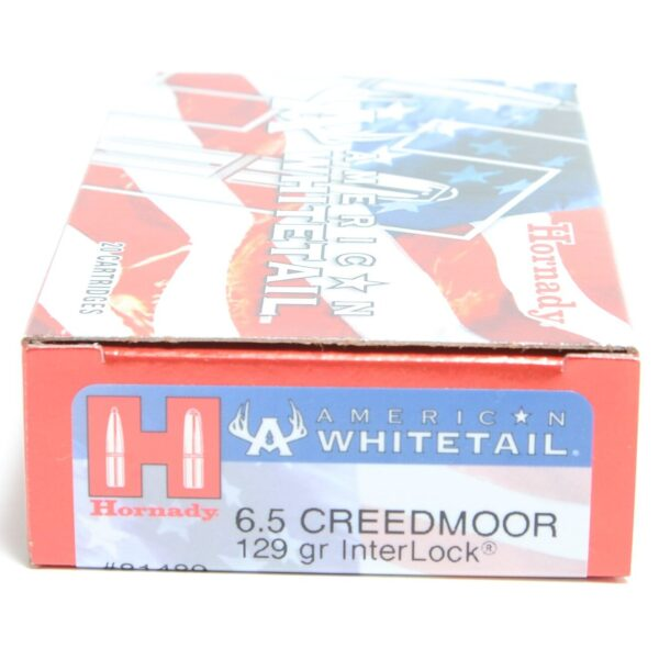 Hornady 6.5 Creedmoor 129 Grain Interlock American Whitetail (20)