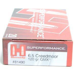 Hornady 6.5 Creedmoor 120 Grain GMX (MonoFlex) Superformance (20)