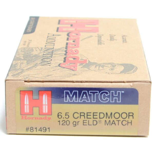 Hornady 6.5 Creedmoor 120 Grain ELD-M (Extremly Low Drag) (20)