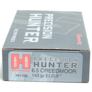 Hornady 6.5 Creedmoor 143 Grain ELD-X (Extremly Low Drag) Hunting (20)