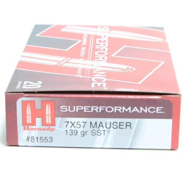 Ammo Fast - HOR81553 - Hornady 7X57 139 Grain SST (Super Shock Tip) Superformance (20)