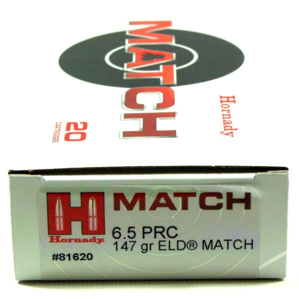 Hornady 6.5 Prc 147 Grain ELD-M (Extremly Low Drag) Match (20)