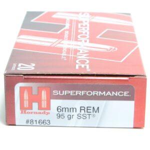 Hornady 6mm Rem 95 Grain SST (Super Shock Tip) Superformance (20)