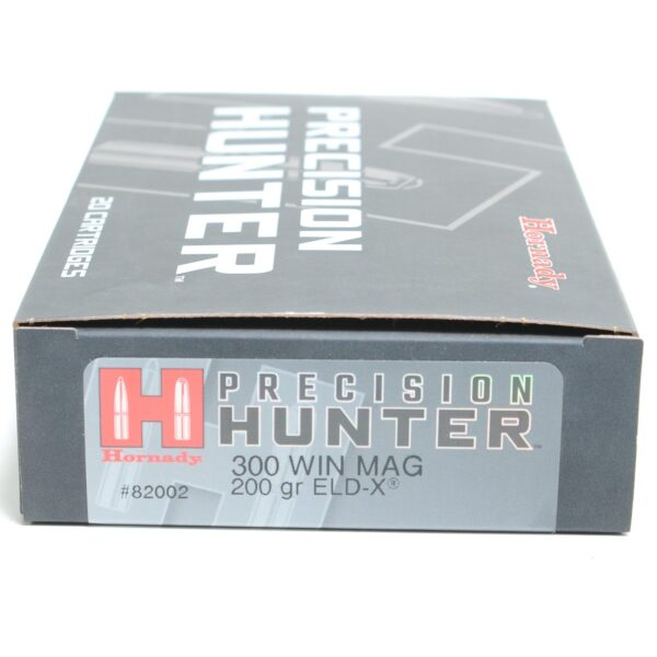 Hornady 300 Win Magnum 200 Grain ELD-X (Extremly Low Drag) Hunting (20)