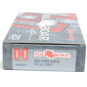 Hornady 300 Win Magnum 165 Grain GMX (MonoFlex) Full Boar (20)