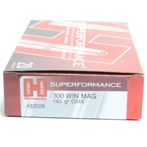 Hornady 300 Win Magnum 165 Grain GMX (MonoFlex) Superformance (20)