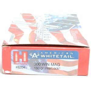 Hornady 300 Win Magnum 150 Grain Interlock American Whitetail (20)
