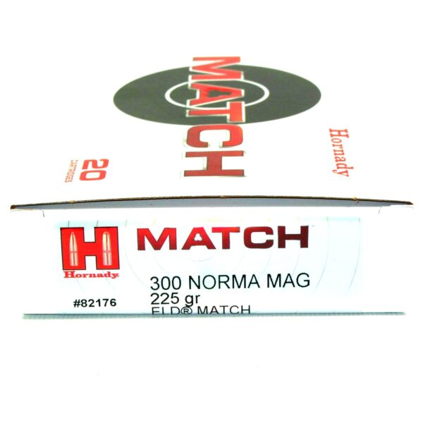 Hornady 300 Norma Magnum 225 Grain ELD-M (Extremly Low Drag) Match (20)