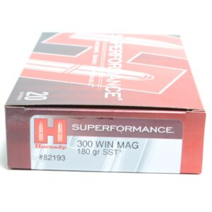 Hornady 300 Win Magnum 180 Grain SST (Super Shock Tip) Superformance (20)