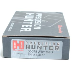 Hornady 30-378 Wby Mag 220 Grain ELD-X (Extremly Low Drag) Hunting (20)