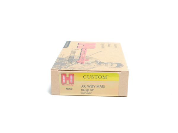 Hornady 300 Wby Magnum 180 Grain Soft Point (20)