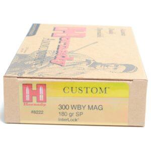 Hornady 300 Wby Magnum 180 Grain Soft Point (20)