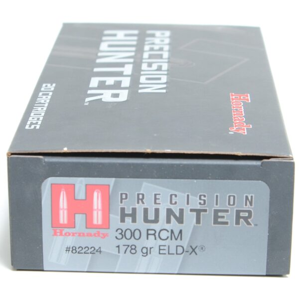 Hornady 300 RCM 178 Grain ELD-X (Extremly Low Drag) Hunting (20)