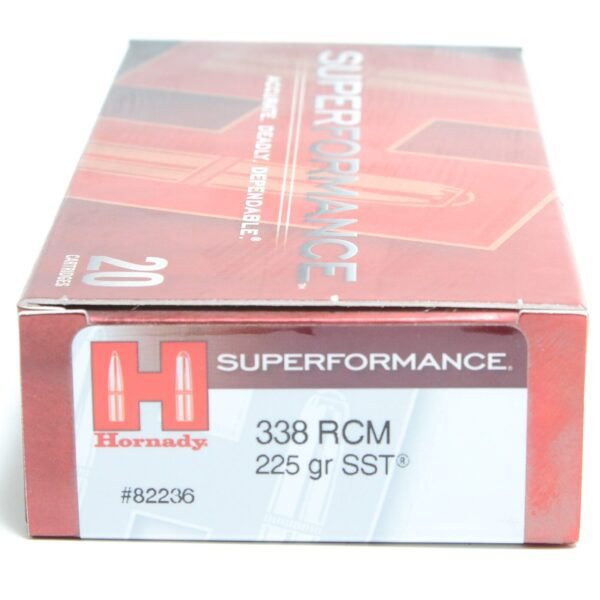 Hornady 338 RCM 225 Grain SST (Super Shock Tip) Superformance (20)