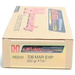 Hornady 338 Marlin Exp 200 Grain FTX (Flex Tip) LEVERevolution (20)