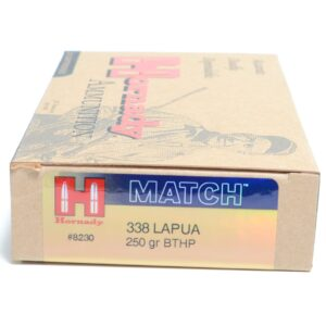 Hornady 338 Lapua 250 Grain Hollow Point Boat Tail Match (20)