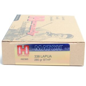 Hornady 338 Lapua 285 Grain Hollow Point Boat Tail Match (20)