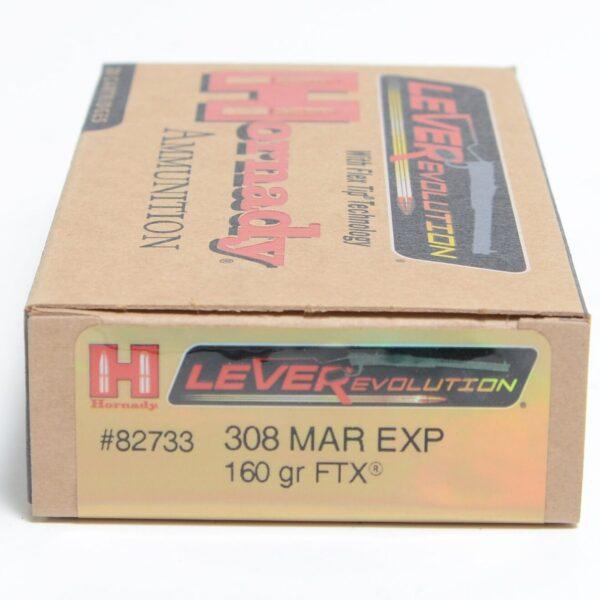 Hornady 308 Marlin Ex 160 FTX (Flex Tip) LEVERevolution (20)