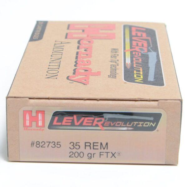Hornady 35 Rem 200 Grain FTX (Flex Tip) LEVERevolution (20)