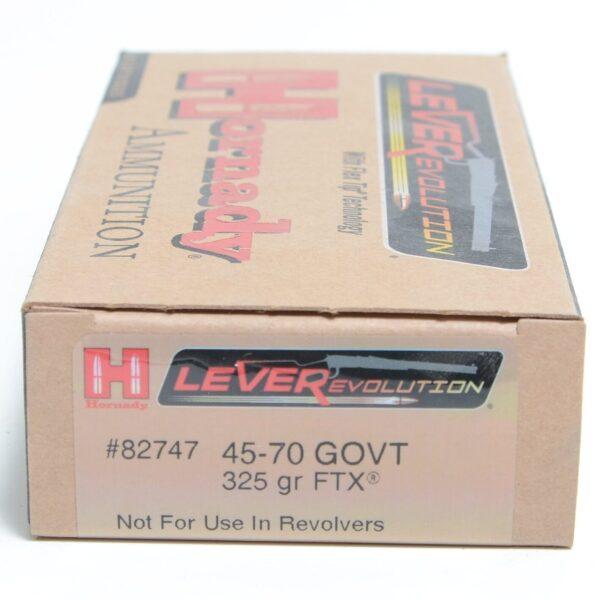 Hornady 45-70 Govt 325 Grain FTX (Flex Tip) LEVERevolution (20)