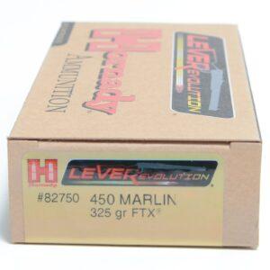 Hornady 450 Marlin 325 Grain FTX (Flex Tip) LEVERevolution (20)