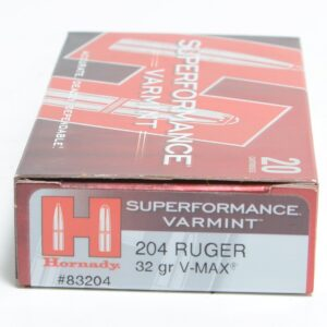 Hornady 204 Ruger 32 Grain V-MAX Superformance (20)