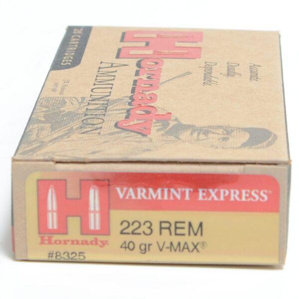 Hornady 223 Rem 40 Grain V-MAX (20)
