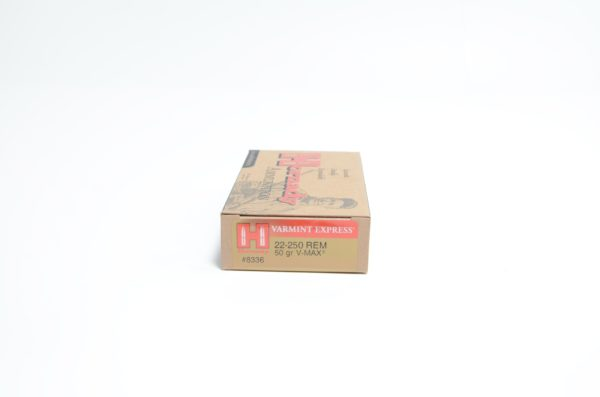 Hornady 22-250 Rem 50 Grain V-MAX (20)