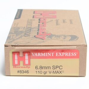 Hornady 6.8mm Soft Point 110 Grain V-MAX (20)