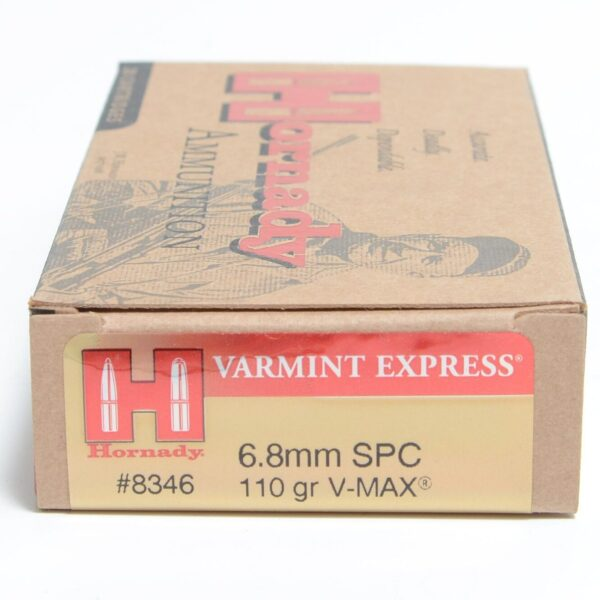 Hornady 6.8mm Soft Point 110 Grain V-MAX (20)