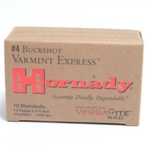Hornady 12 Ga #4 Buckshot (10)